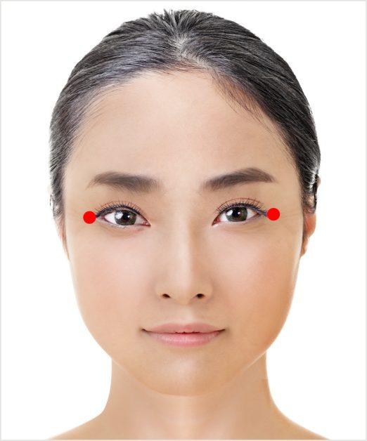 Японская техника омоложения кожи вокруг глаз